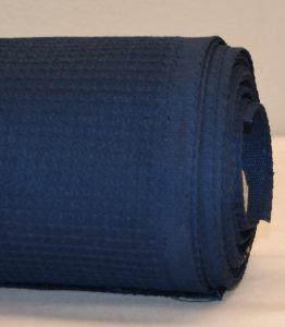 Tumman sininen vohvelikangas